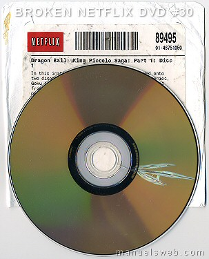 how to open blockbuster dvd case