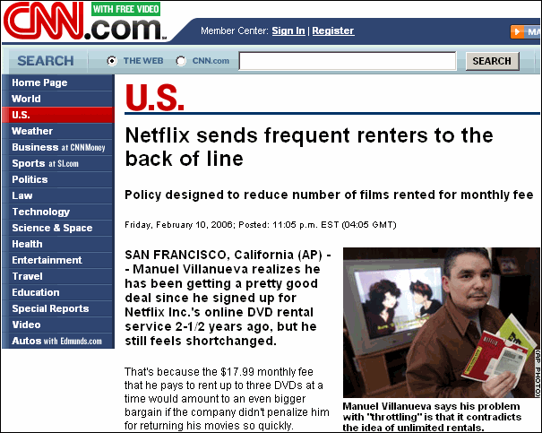 Netflix exposed by CNN